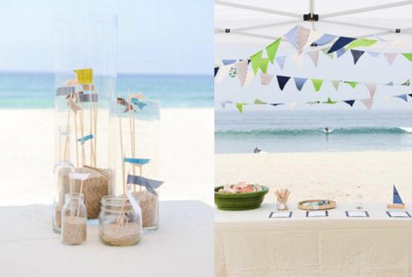 festa de aniversário infantil praia