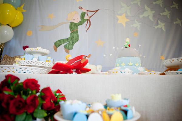 Festa de aniversário Pequeno Príncipe