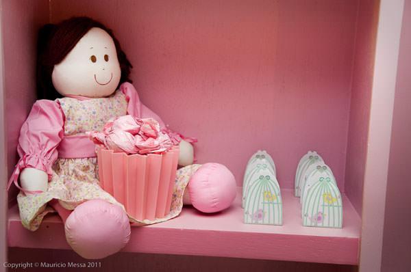 aniversario infantil casa de boneca