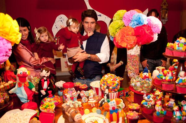 festa aniversário infantil circo decoração bossa nova