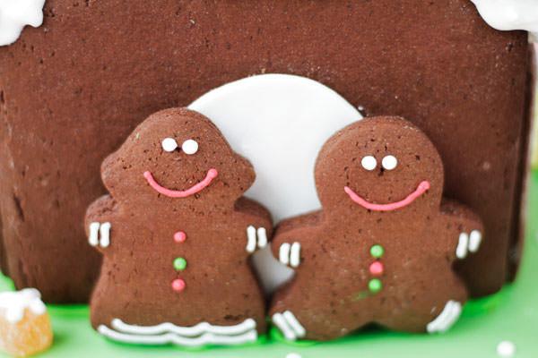casa de biscoito natal