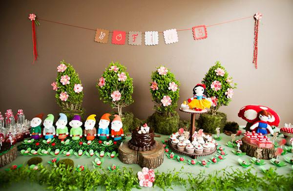 festa aniversário Branca de Neve