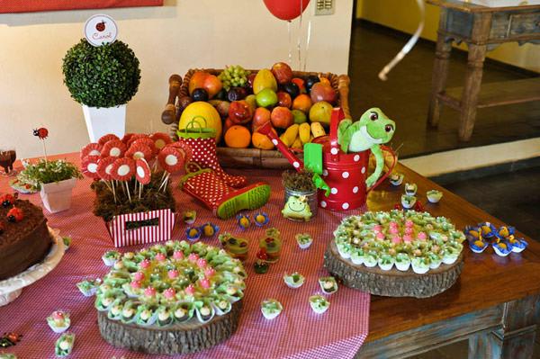 festa de aniversario tema piquenique