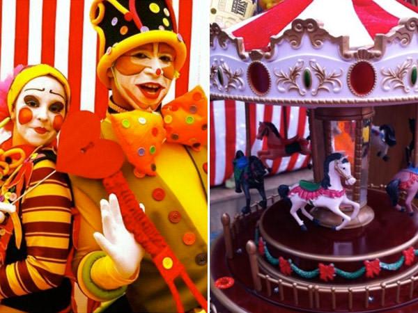 Aniversário: tema circo