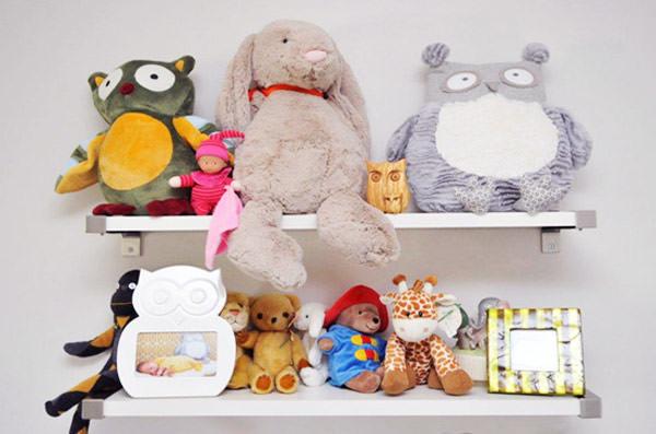 quarto infantil tema corujas