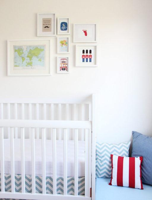 Quarto de bebê: Volta ao Mundo