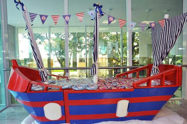 festa infantil marinheiro
