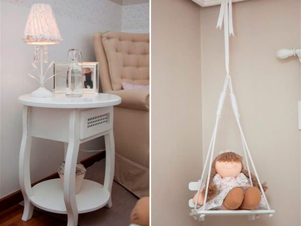 Quarto de bebê bege e rosa Constance Zahn Babies & Kids ~ Quarto Rosa Bege
