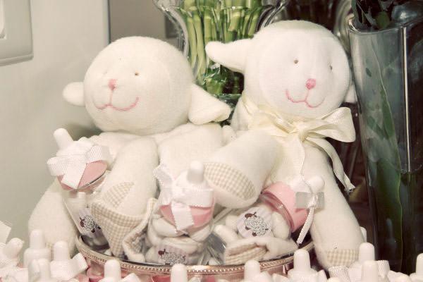 cha de bebe tema ovelhinha