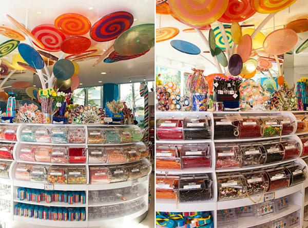 aniversario infantil loja de doces