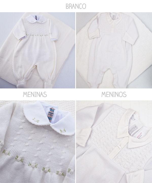 roupa de maternidade branca