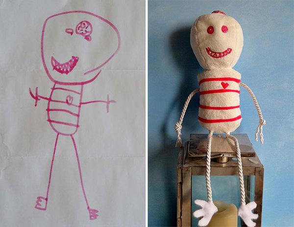 bonecos desenhos crianças