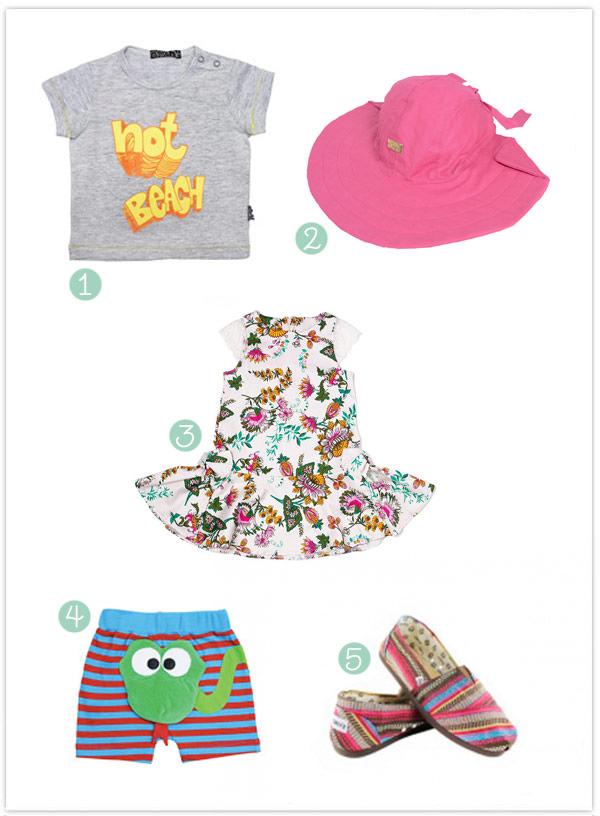 roupa infantil para verão