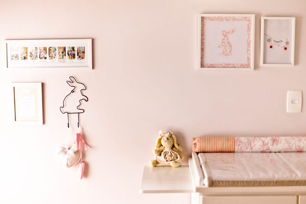 decoracao quarto menina rosa branco