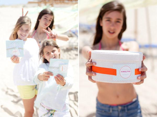 festa infantil aniversario na praia