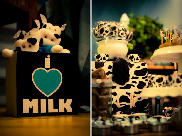 festa infantil tema leite leticia alencar