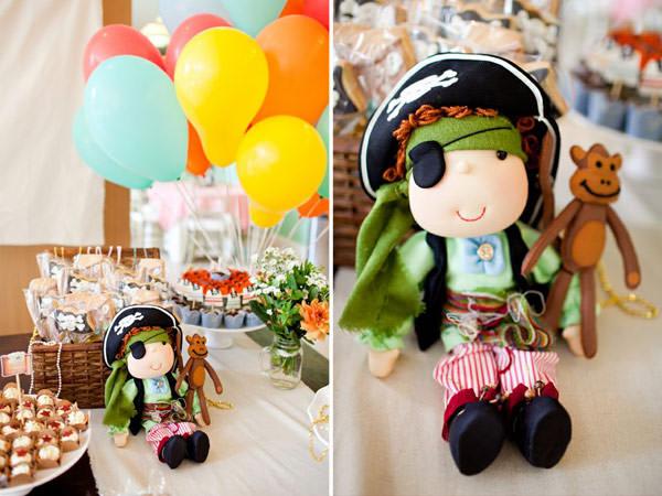 festa infantil lollis pirata
