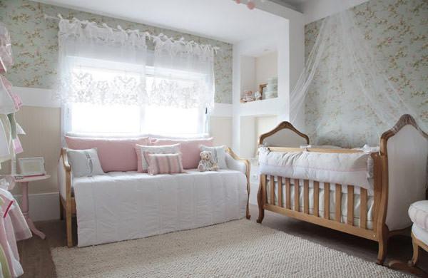 Quarto de bebê rosa e verde Constance Zahn Babies & Kids ~ Quarto Rosa E Verde
