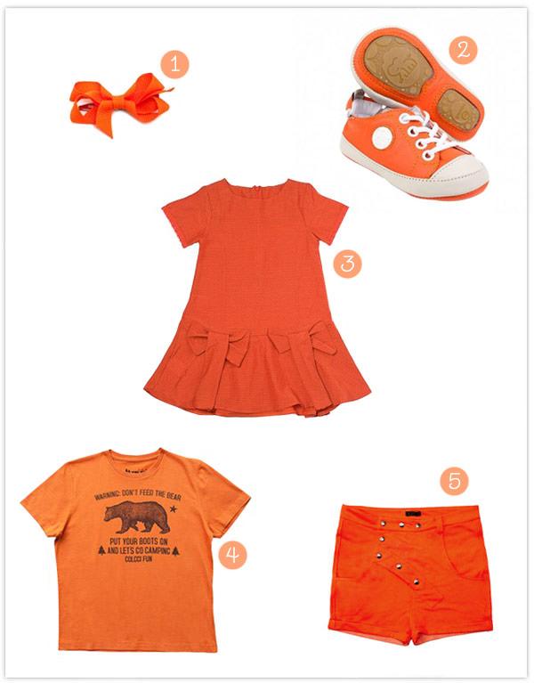 roupa-infantil-vestidinho-tenis-bebe-laranja