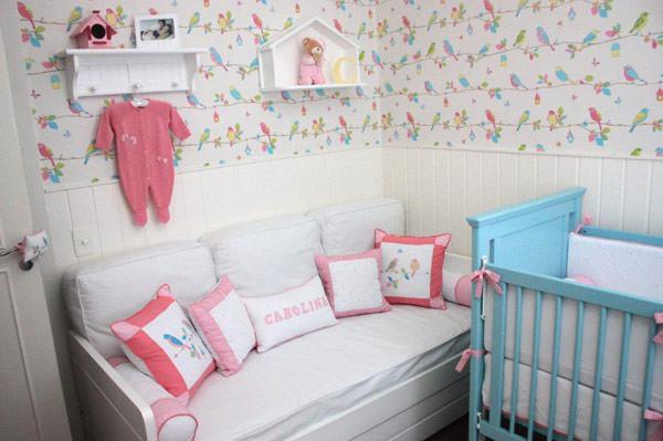 Quarto de bebê decoração com passarinhos  Constance Zahn  Babies & Kids