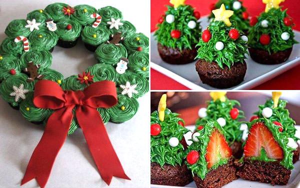 doces-natal-divertidos-criancas-arvore-natal-cupcakes