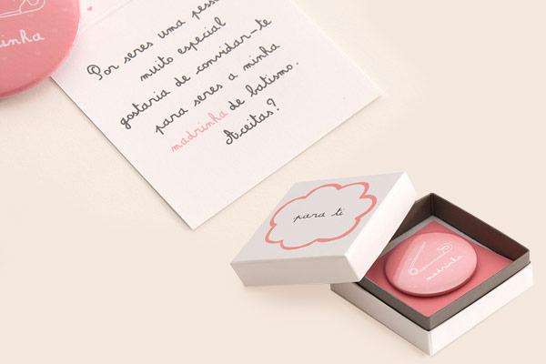 Bottom + mensagem da Convites de Casamento Personalizados