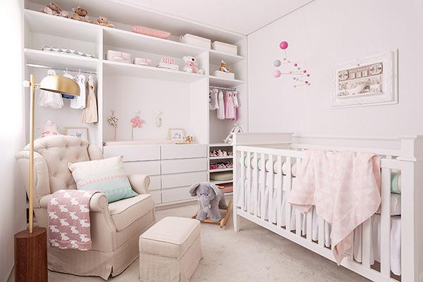 Quartinho de bebê em tons pastel Constance Zahn Babies  ~ Quarto Rosa Pastel