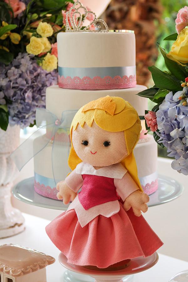 Aniversário com tema baile das princesas