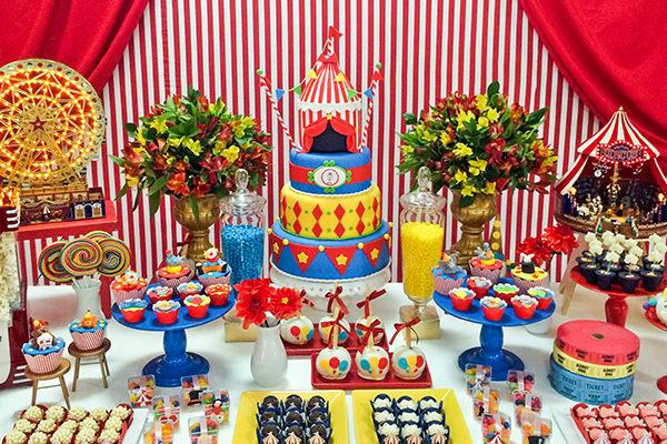 Primeiro aniversário: o circo do Gabriel