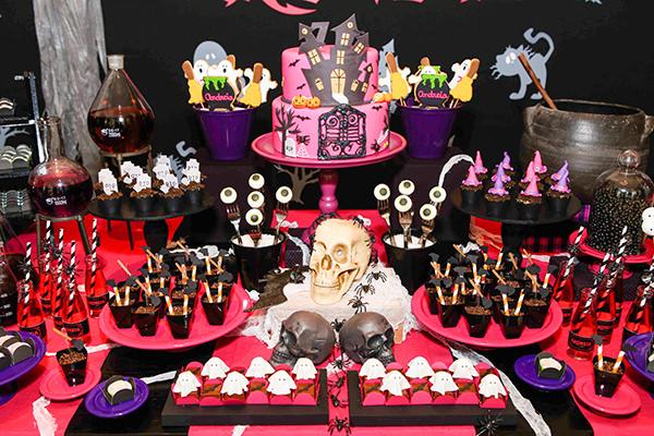 Festinha infantil, Halloween, Caraminholando