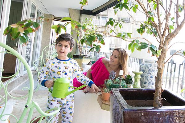No ninho, Ensaio, Família, Monica Salgado, Vivi Guimarães