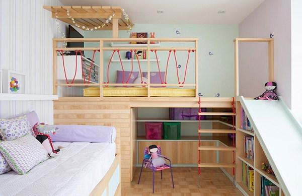Quarto Infantil Recria Casa Na 225 Rvore