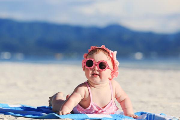 Cuidados com bebês na praia, Verão