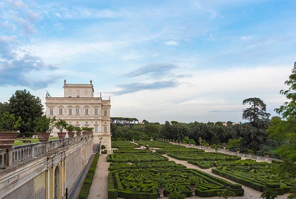 Villa Doria Pamphili park, in Rome