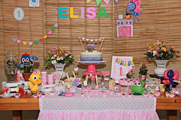 Festa infantil com tema Galinha Pintadinha
