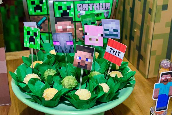 Festinha, Arquitetura do açúcar, Minecraft