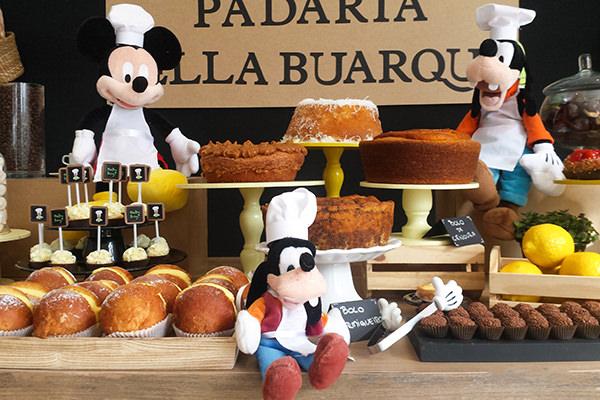 Festinha, Caraminholando, Padaria do Pateta, Disney