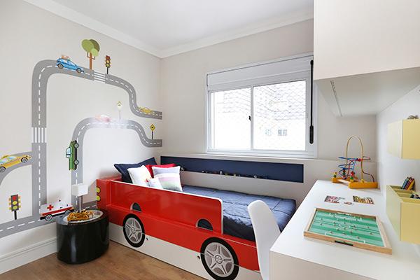 Quartinho, Quarto infantil, Egg interiores, Carros