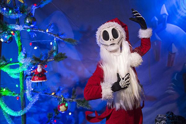 Jack Skellington Brings a Touch of Christmastown to Walt Disney World Resort