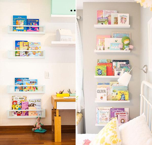 Como organizar os livros no quarto da crianca, Organização, Qu