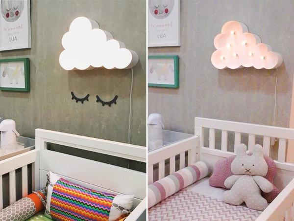 7 ideias para decorar o quarto infantil com nuvens