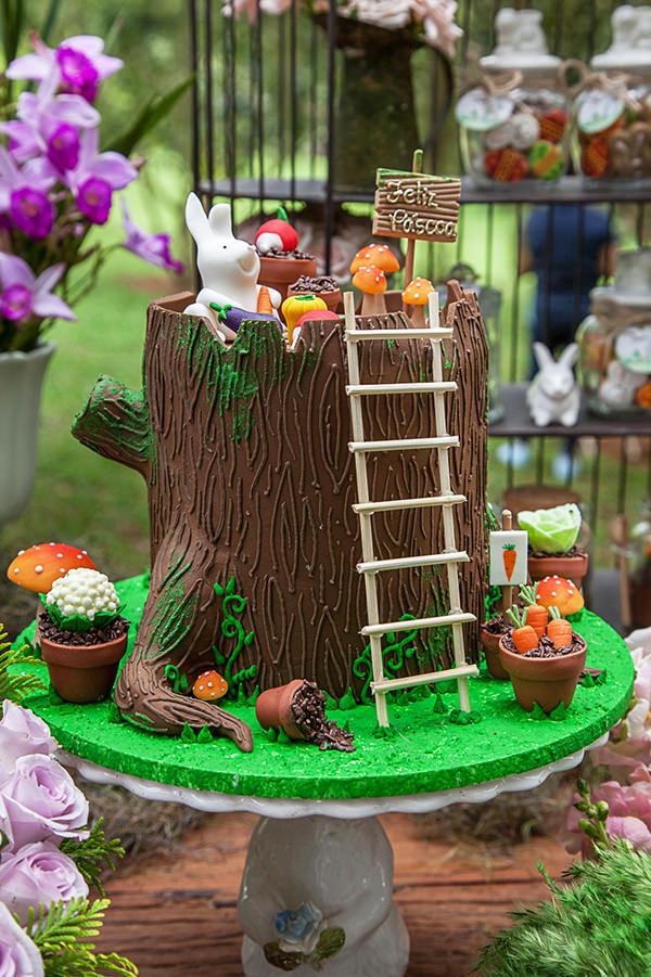 Festinha de Páscoa no jardim
