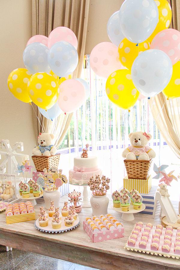 Aniversário de criança com tema Parque das Ursinhas