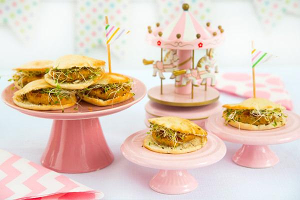 Beirutinho veggie e pipocas diferentes são novidades do menu kids da Ghee Banqueteria