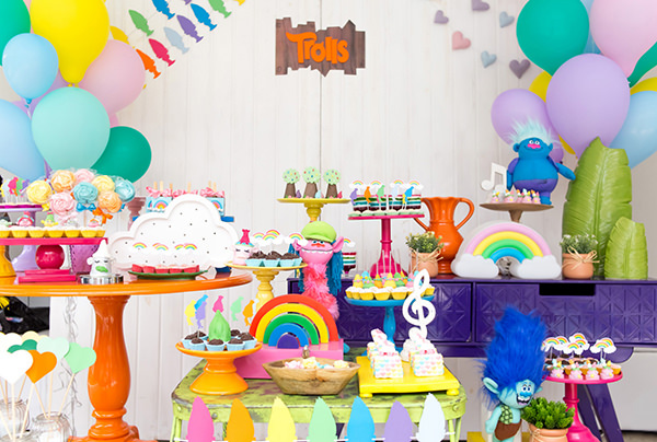TROLLS PARTY IDEAS - SOUTHERN BLUE CELEBRATIONS